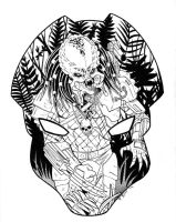 Daily Sketch Predator by BESTrrr
