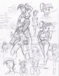TF2 Comic Sketch Dump by MidNight-Vixen
