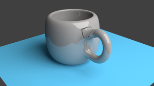 My first attempt at blender by JonFurniss