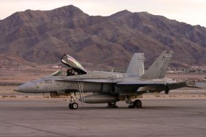 Nellis Hornet by Atmosphotography