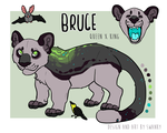Litter cub : Bruce by painted-flamingo