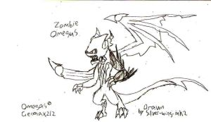 Omegus zombie draiwng by silver-wing-mk2