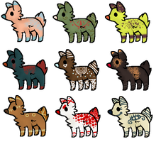 Offer-To-Adopt Puppy Adopts (3/9 OPEN) by BunBun-Adopts