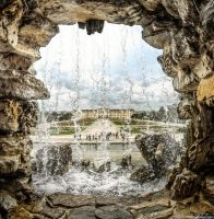 Vienna - Castle Schoenbrunn by pingallery