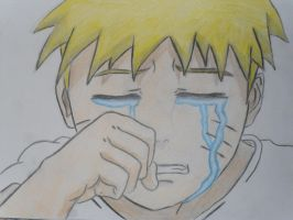 Young Naruto Crying by inspired118