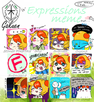 le' expression memeow by yumchow