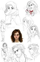 Legend Unleashed Character Designs by mlatimerridley