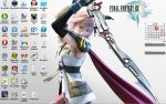 Desktop: Final Fantasy XIII by satsukiss