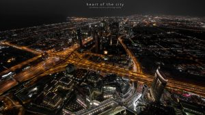 heart of the city by sandeepsarma