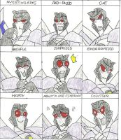 Starscream Blushing Faces Meme by Shadowismrevilgecko