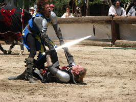 More Knight Joust Stock 025 by tursiart