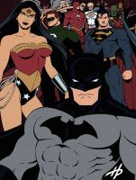 Batman and Company by Hal-2012