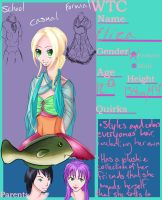 Eliza ref by HeartyStar