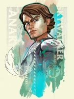Anakin Skywalker by SteveAndersonDesign