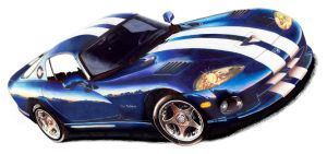 Viper Blue by mobleyart