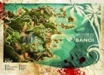 Banoi Beach Tourist Map by atomhawk