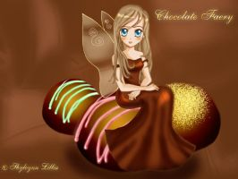 Chocolate faery by Shyleynn