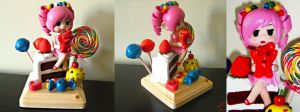 Candy Girl Sculpture by BThomas64