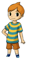 Mother 3: Toon Claus by Aviarei