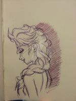 Elsa Sketch by MissRana62