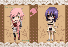 Fairy Tail OC~ Open Collab with Joyce x3 by KendyChii