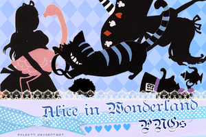 Alice in wonderland PNG2 by pflee77