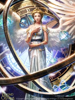 Cosmic planetary angels by Liang-Xing