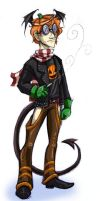 Gaia- Pumpkinman avatar by Bilious