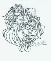 Taki and Sophitia 2 by JYC