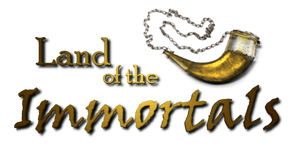 Land of the Immortals Logo by dragon-of-seth