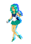 Sailor Neptune by MilkPeach