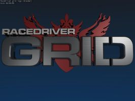 race driver grid logo by flightcrank
