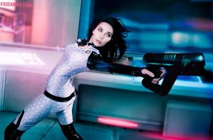 GeneticPerfection: MassEffect Miranda Lawson. by KassandraLeigh