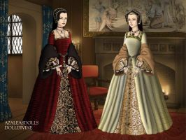 Anne Boleyn and Jane Seymour (1972's film) by LadyBolena
