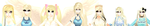 [MMD] Sirrenity Models Then and Now by DeidaraChanHeart