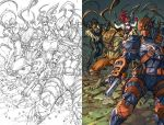 Deathstroke 13 page 12 by arf