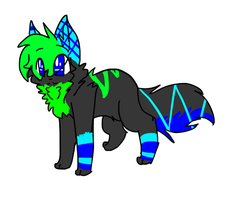 much neon eh .:commission:. by Freckled-Kat