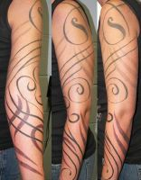 Tribal Sleeve by choppersink01
