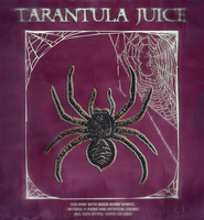 Tarantula Juice Drink Label by MrAngryDog