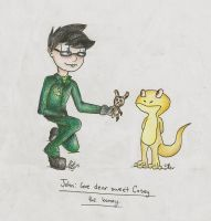 John: Give Dear Sweet Casey the Bunny by Snipperss