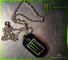 monster necklace by Mandy0x