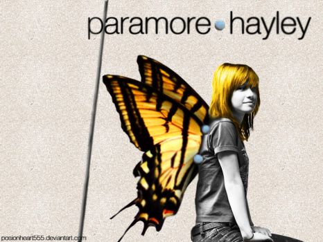 Hayley - brand new eyes wall by PoisonHeart555