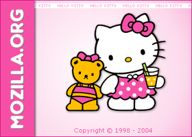 Mozilla Hello Kitty by phoxxmeister
