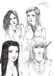 Harry Potter gals by rynarts