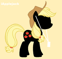 Applejack ipod by Rose-fang