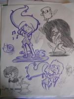 Adventure Time Sketches by Anna-LynnTH