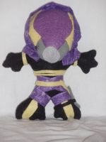 Felt Tali'Zorah vas Normandy by Emilijoy