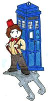 11th Doctor by MasqueradeLover
