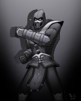 Noob Saibot: Ascension by DarioCld