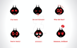 Devil-ish Icons by nightingale680